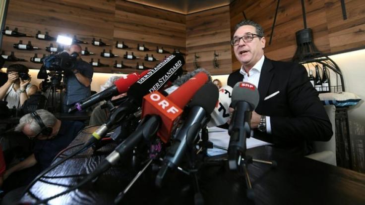 Ex-FPÖ-Chef Strache beendet seine politische Karriere.