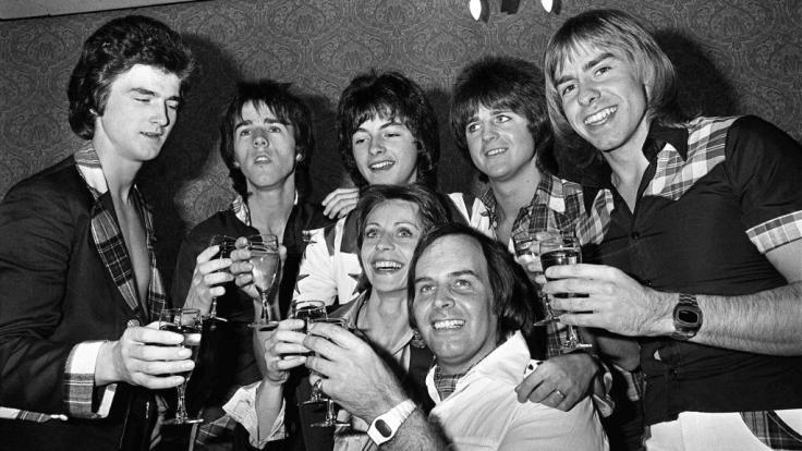 Die Bay City Rollers im Jahr 1976.