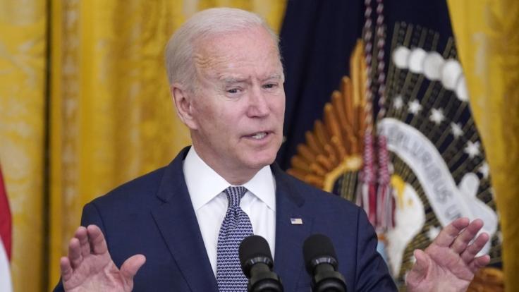 Joe Biden soll seine geistige Gesundheit unter Beweis stellen. (Foto)