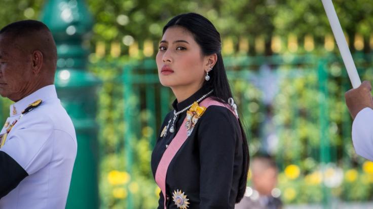 Die thailändische Prinzessin Sirivannavari Nariratana wirbt jetzt für Desinfektionsmittel. (Foto)