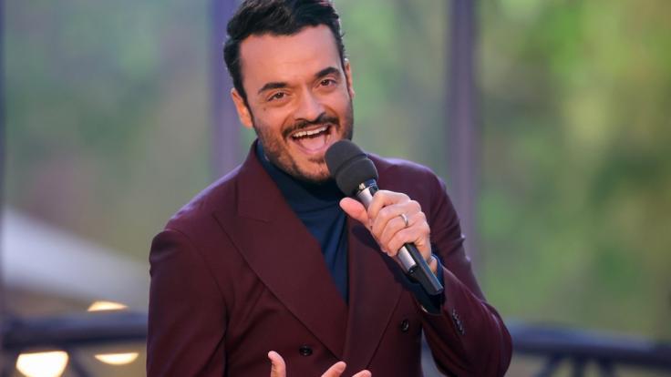"""Der italienische Musiker und Sänger Giovanni Zarrella präsentiert am 11.09.2021 die erste Ausgabe seiner """"Giovanni Zarrella Show"""" im ZDF. (Foto)"""