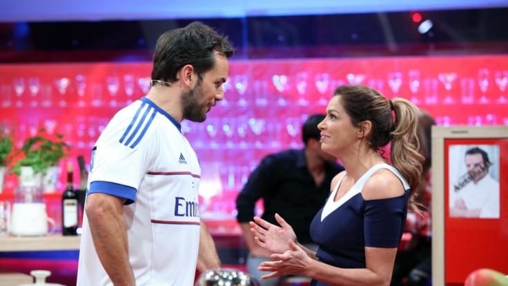 Da macht Sabia Boulahrouz ganz große Augen. (Foto)