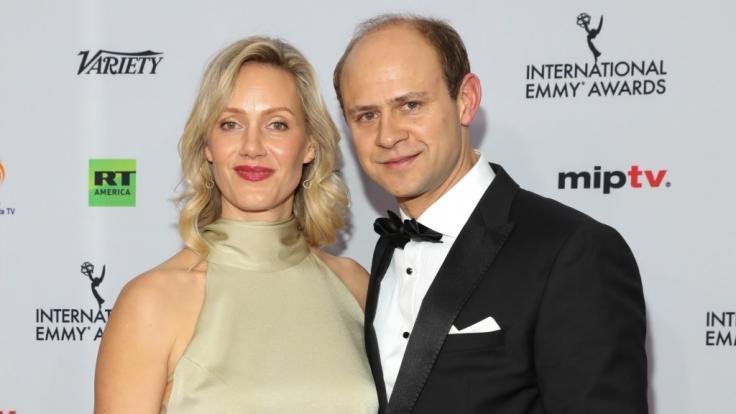 Schauspieler Moritz Führmann ist mit der Schauspielerin Anna Schudt verheiratet. (Foto)