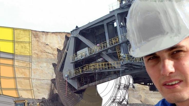 Bergbau-Ingenieure haben es in ihrem Job oft mit technischen Giganten zu tun.