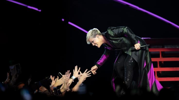 """Pink kommt mit ihrer """"Beautiful Trauma"""" Welttournee 2019 nach Deutschland. (Foto)"""