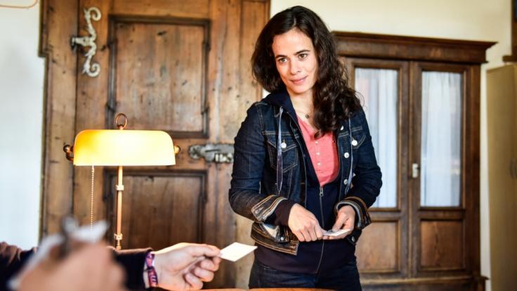"""Maya Haddad spielt in der ZDF-Serie """"Gipfelstürmer"""" die Hauptrolle. (Foto)"""