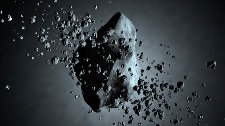 """Am Wochenende """"schrammt"""" der größte Asteroid des Jahres an der Erde vorbei. (Foto)"""