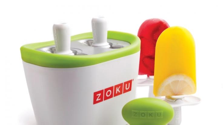 Blitzschneller Eisgenuss - mit dem Zoku QUick Pop Maker ist das ein Kinderspiel.