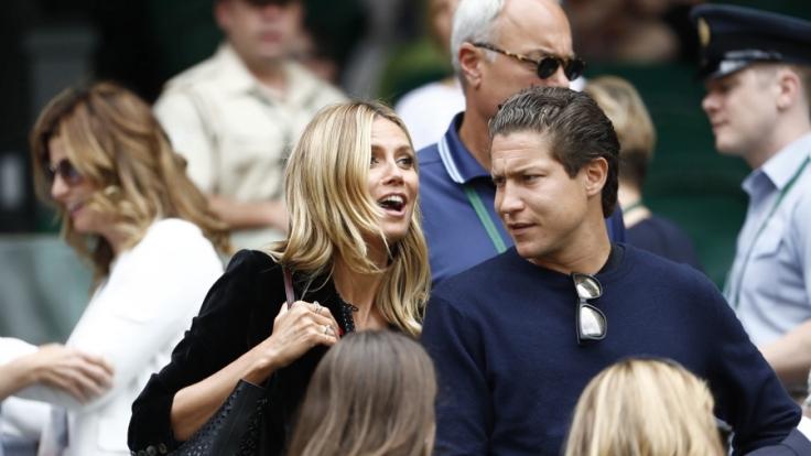 Heidi Klum und Vito Schnabel schweben offensichtlich wieder auf Wolke sieben. (Foto)