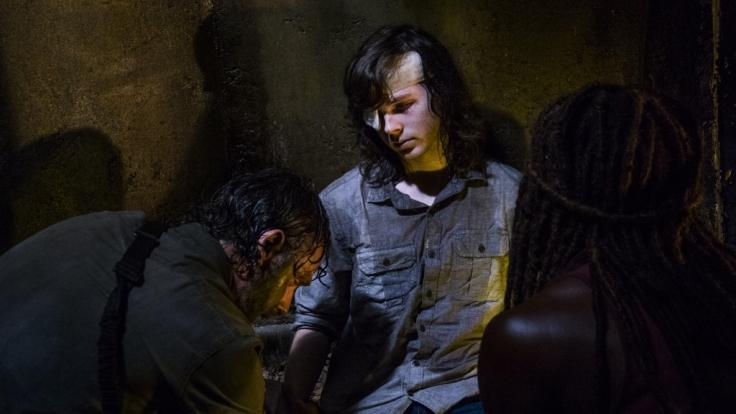 """Wie geht es nach dem Tod von Carl Grimes bei """"The Walking Dead"""" weiter? (Foto)"""
