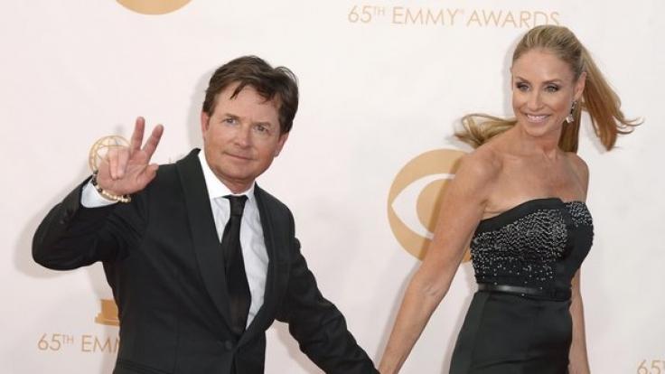Mit seiner Ehefrau Tracy Pollan ist Hollywoodstar Michael J. Fox seit 1988 verheiratet.