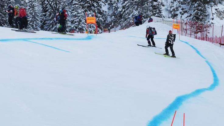 Die Ski-alpin-Herren messen sich inChamonix am Mont Blanc. (Foto)