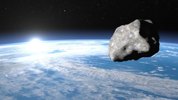 Die Nasa hat offenbar einen riesigen Asteroiden übersehen (Symbolbild). (Foto)