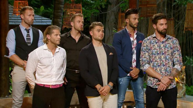 """Christian, Paul, Philipp, Johannes, Domenico und Sebastian vergaben in Folge 3 von """"Bachelor in Paradise"""" die Rosen. (Foto)"""