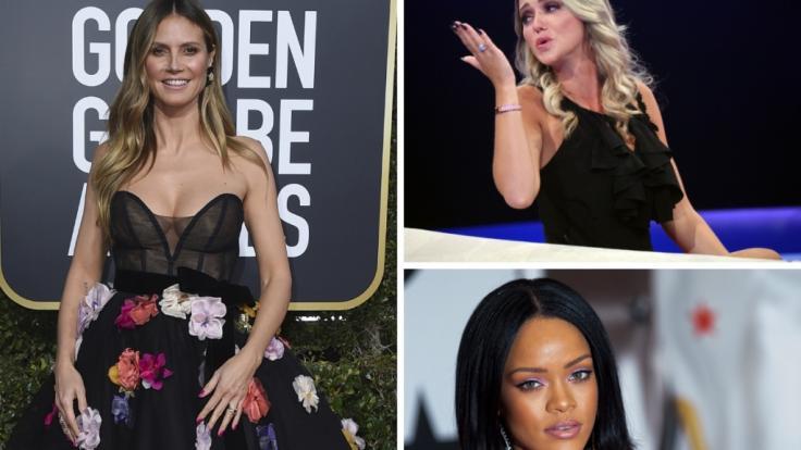 Heidi Klum, Rihanna und Cathy Lugner in den Promi-News der Woche. (Foto)