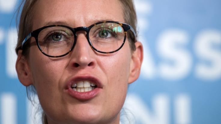 Alice Weidel will den Kika offenbar zensieren lassen. (Foto)