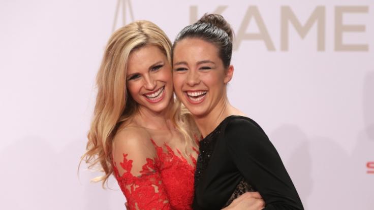 Michelle Hunziker und Aurora Ramazzotti freuen sich über Doppel-Nachwuchs.