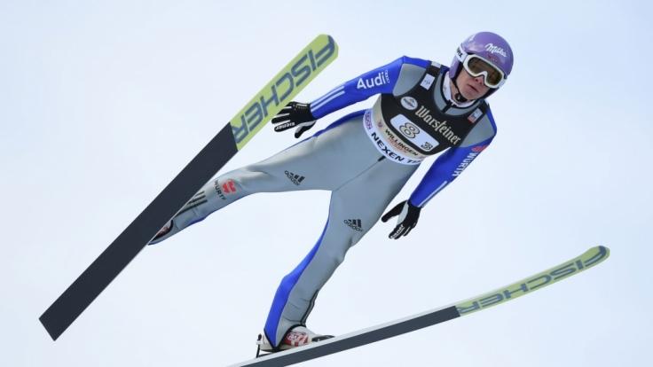 Andreas Wellinger hatte zuletzt deutlich Aufwind. (Foto)