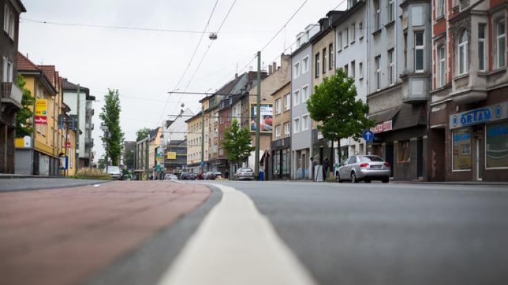 Problemviertel Duisburg-Marxloh. (Foto)