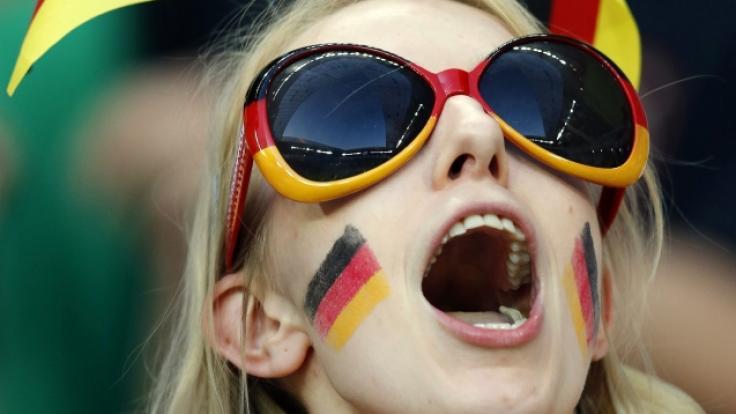 Deutschland-Fan (Foto)
