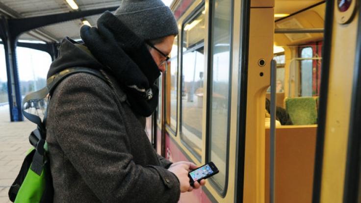 Mit Welect kann man in Düsseldorf gratis mit Bus und Bahn fahren. (Foto)