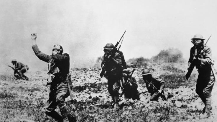 Gasangriffe mit Phosgen, Senfgas oder Chlorgas waren im 1. Weltkrieg keine Seltenheit.