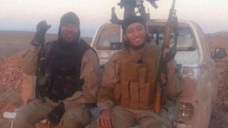 Deso Dogg und Farid S., Abu Talha und Abu Osama, morden gemeinsam im Namen der IS. (Foto)