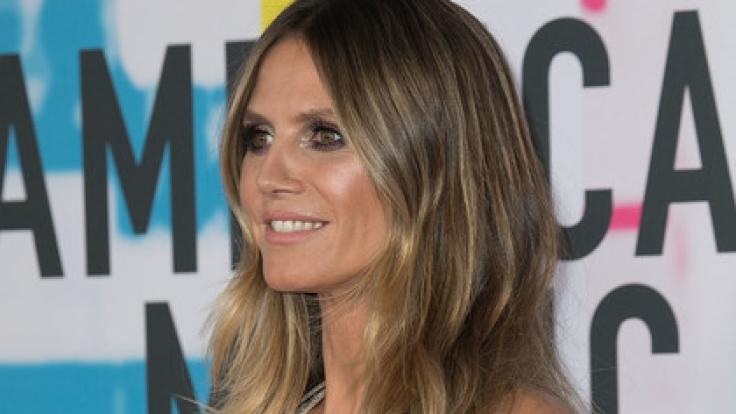 """Bei den """"American Music Awards"""" wurden erstmals Stimmen laut, die Heidi Klum als zu dünn empfanden. (Foto)"""