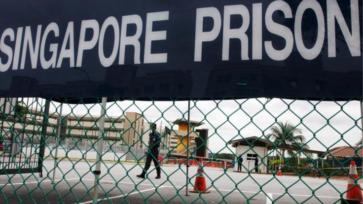 Im Changi-Gefängnis in Singapur musste ein wegen Drogendelikten inhaftierter Brite die Hölle auf Erden erleben (Symbolbild).