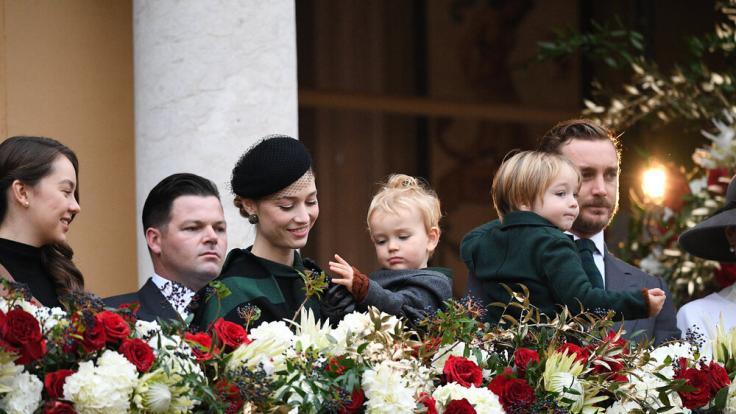 Nationalfeiertag in Monaco - die Fürstenfamilie zeigt sich volksnah (Foto)