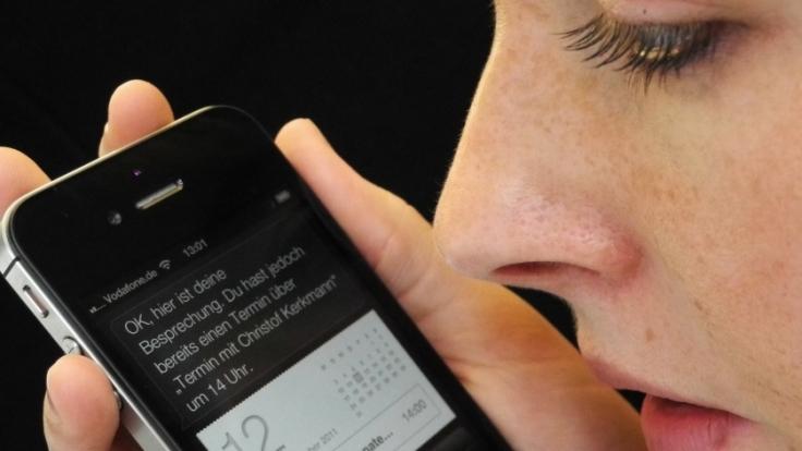 Nicht nur hilfreich, sondern auch schlagfertig: Apples Siri.