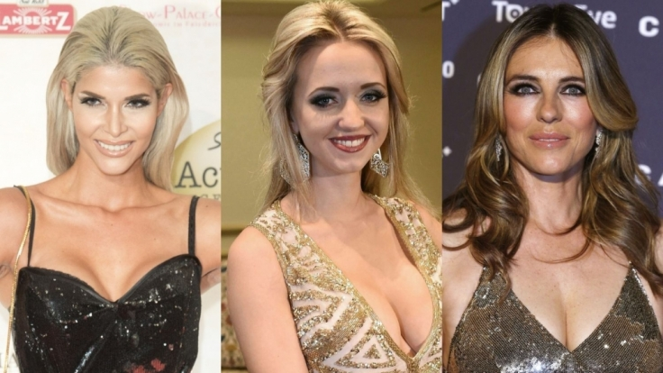 Stars wie Micaela Schäfer, Cathy Lugner oder Liz Hurley heizten ihren Fans mit sexy Silvestergrüßen gehörig ein.