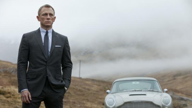 Seine Mission führt ihn zurück zu seinen Wurzeln in Schottland: Daniel Craig als James Bond in Skyfall.