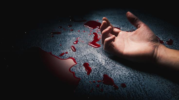 Ein Mann hat seine Frau vor den Augen der Kinder erschlagen. (Foto)