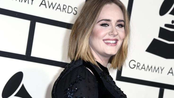 Adele kündigte ihren neuen Song auf Instagram an. (Foto)