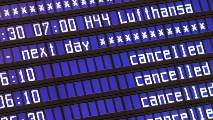 Der Lufthansa-Streik geht heute in die zweite Runde.