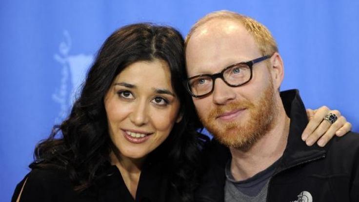 Zur Berlinale 2009 erschien Simon Schwarz mit seiner Filmpartnerin Dorka Gryllus.