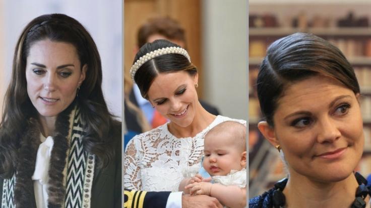 Herzogin Kate, Prinzessin Sofia von Schweden und Kronprinzessin Victoria von Schweden hatten in der vergangenen Woche mit dem Thema Nachwuchs zu tun.