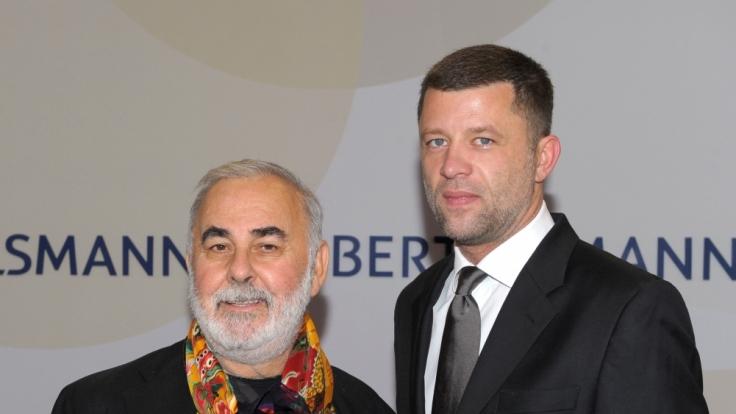 Udo Walz' Ehemann Carsten Thamm musste sich per Video verabschieden. (Foto)