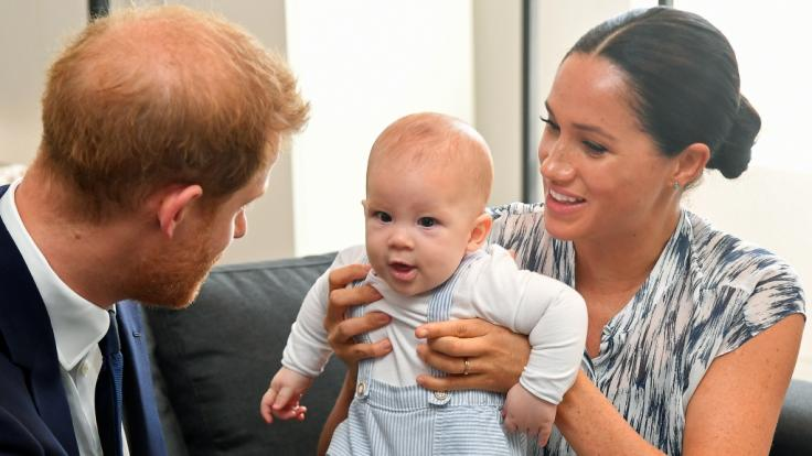 Ein Shitstorm auf Twitter stellte die Frage: Ist Herzogin Meghan Markle etwa eine schlechte Mutter für Baby Archie?