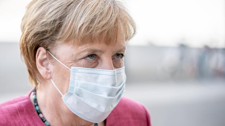 Angela Merkel ist optimistisch, dass das Tempo beim Impfen zunehmen wird. (Foto)