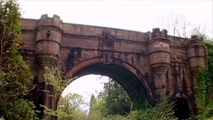 Die Hunde-Selbstmordbrücke in West Dunbartonshire, Schottland.