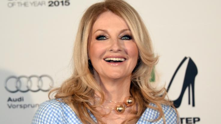 TV-Moderatorin Frauke Ludowig kennt man stets topgestylt und aufwändig geschminkt. (Foto)