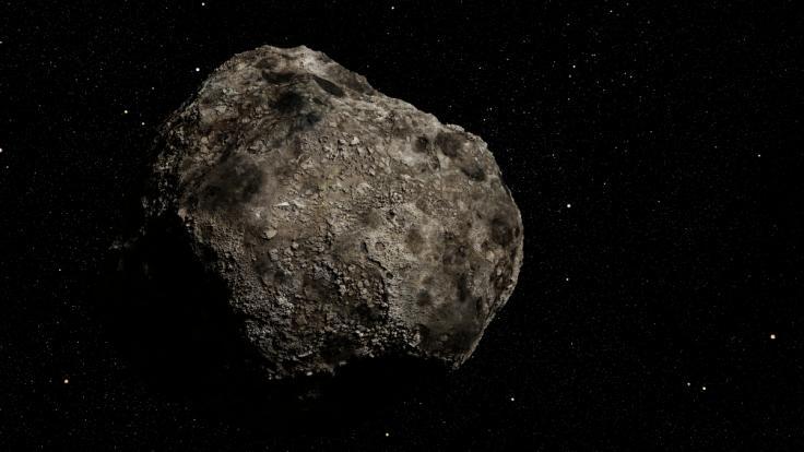 Gleich sechs Asteroiden fliegen am Wochenende sehr nah an der Erde vorbei.