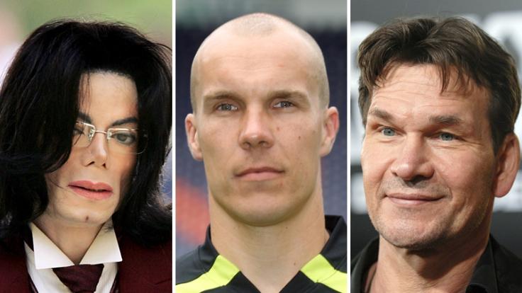 2009 gestorben: Michael Jackson, Robert Enke und Patrick Swayze (Foto)