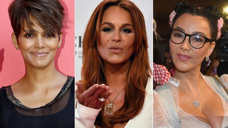 Machen auch mit über 50 eine gute Figur: Halle Berry, Andrea Berg und Verona Pooth.