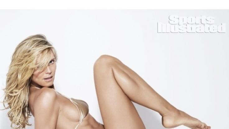 Heidi Klum: Ihre Oben-ohne-Fotos kommen gar nicht gut an.