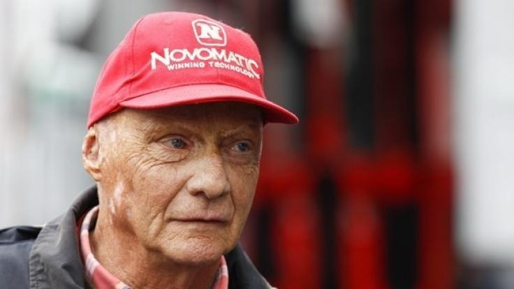 Der Horror-Unfall von Niki Lauda jährt sich am 1. August bereits zum 40. Mal. (Foto)