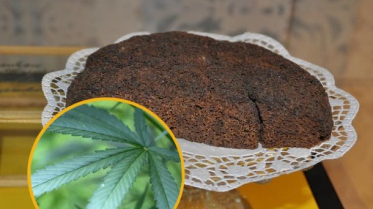 Ein Schoko-Kuchen mit Cannabis hat gleich mehrere Rettungseinsätze ausgelöst.