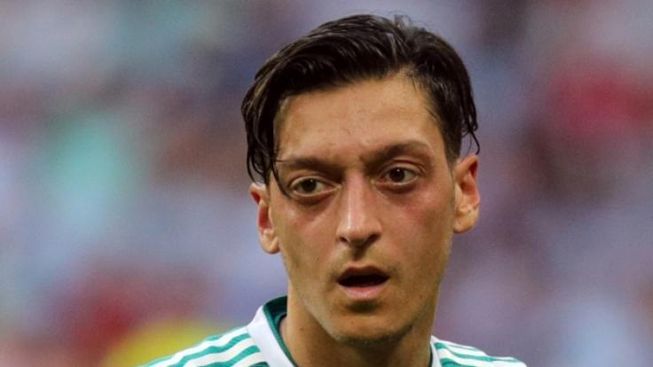 Mesut Özil sorgt nach dem WM-Aus schon wieder für Negativ-Schlagzeilen. (Foto)